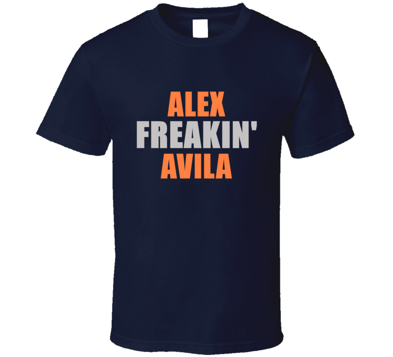 Alex Avila Freakin Detroit Michigan Baseball Sports T Shirt