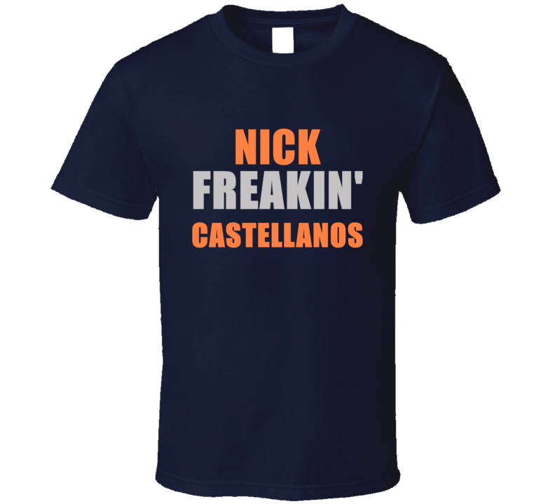 Nick Castellanos Freakin Detroit Michigan Baseball Sports T Shirt