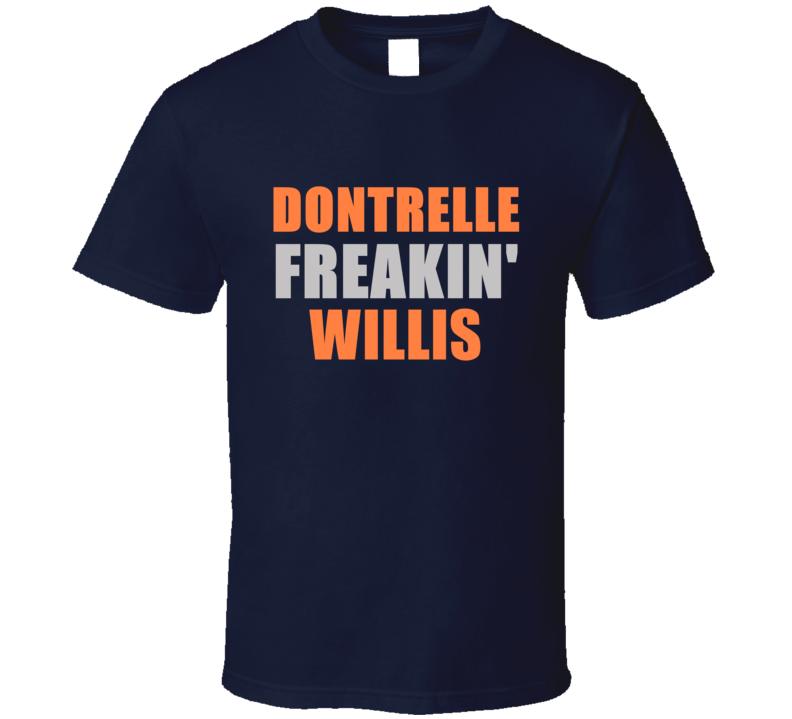 Dontrelle Willis Freakin Detroit Michigan Baseball Sports T Shirt