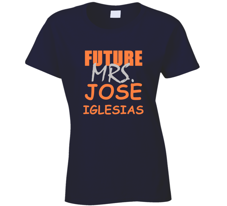 Jose Iglesias Future Mrs Detroit Michigan Baseball Sports T Shirt