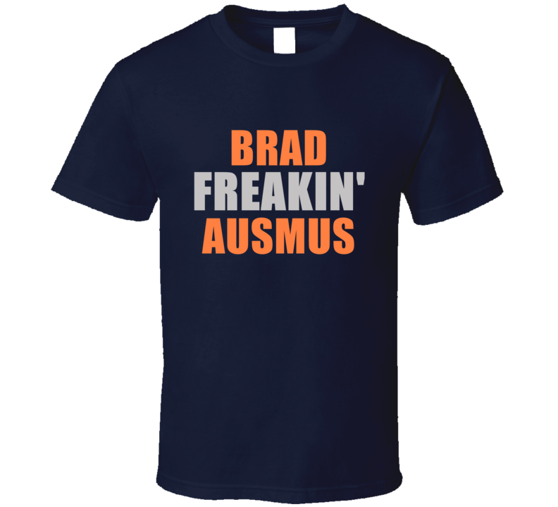 Brad Ausmus Freakin Detroit Michigan Baseball Sports T Shirt