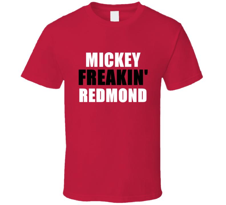 Mickey Redmond Freakin Sports Michigan Detroit Hockey T Shirt