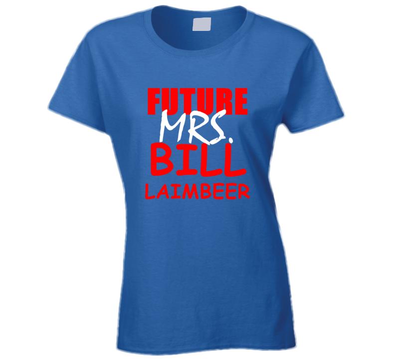 Bill Laimbeer Future Mrs Basketball Sports Detroit Michigan T Shirt
