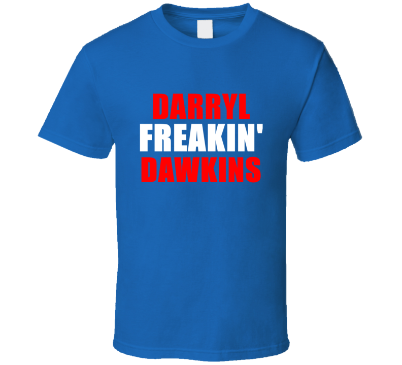 Darryl Dawkins Freakin Basketball Sports Detroit Michigan T Shirt