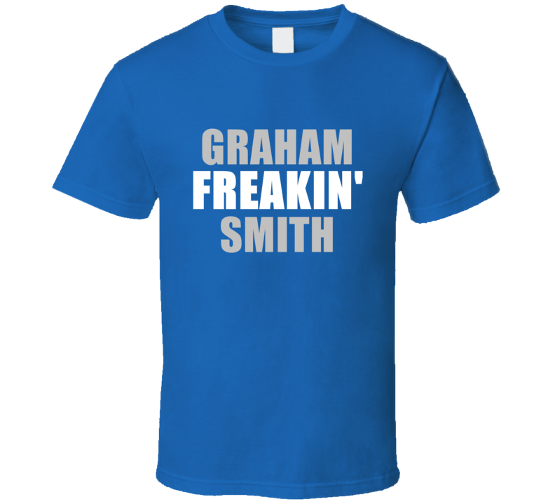 Graham Smith Freakin Football Detroit Sports Michigan T Shirt