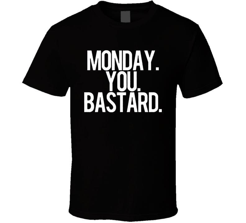 Monday Blues T Shirt