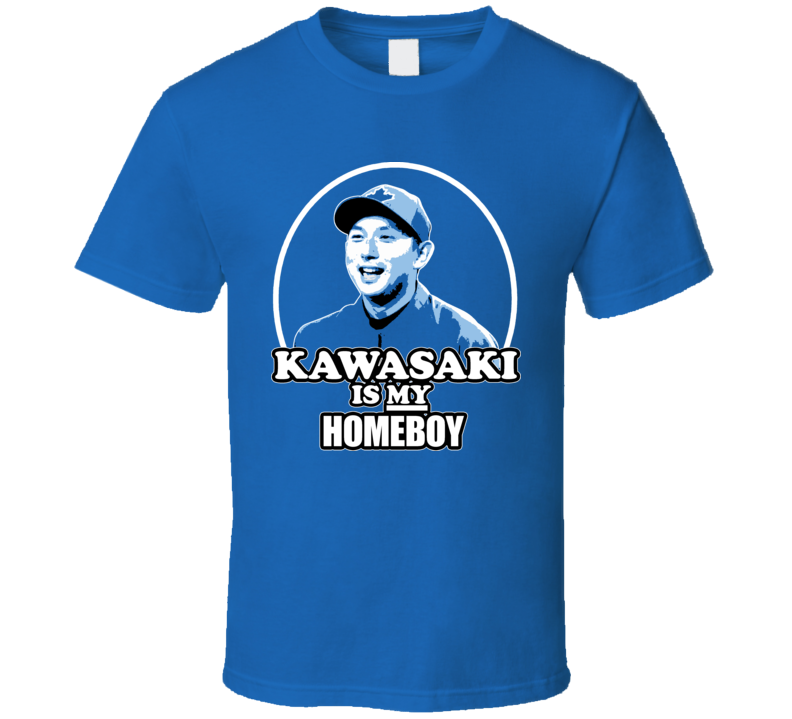 Munenori Kawasaki Is My Homeboy Toronto Baseball T Shirt