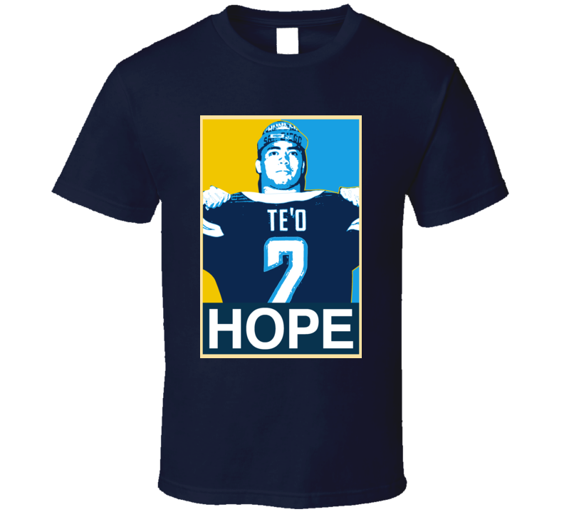 Manti Te o Hope San Diego Football T Shirt