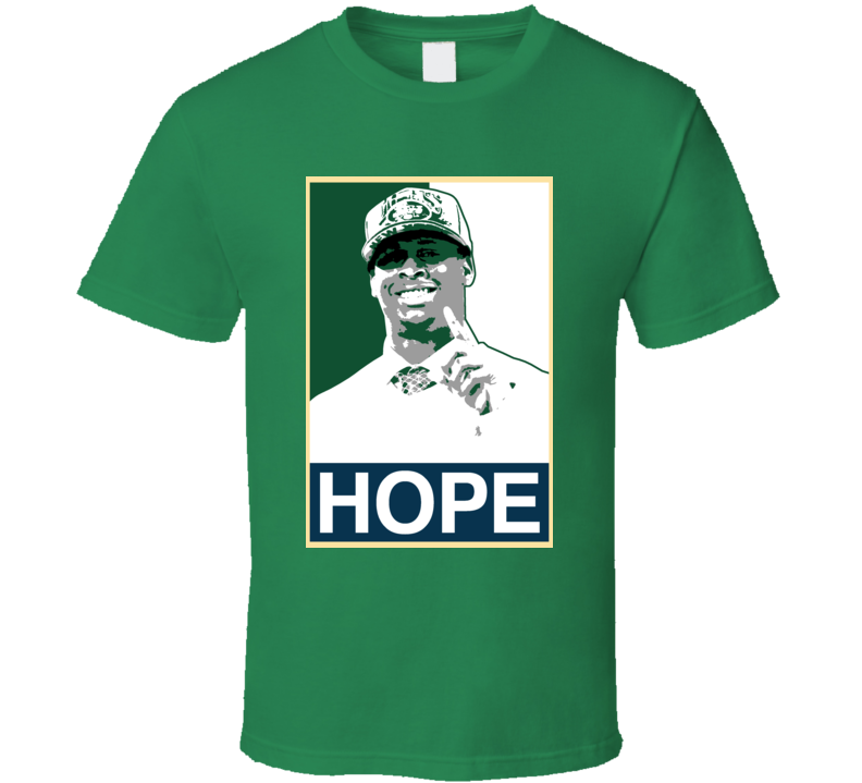 Geno Smith Hope New York Football T Shirt