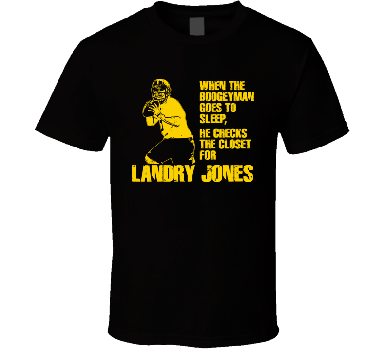 Landry Jones Boogeyman Pittsburgh Football T Shirt