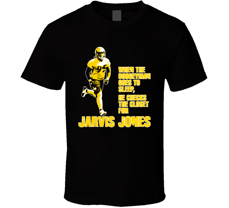 Jarvis Jones Dawg Bones Boogeyman Pittsburgh Football T Shirt
