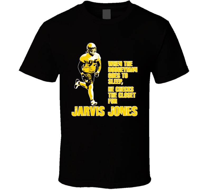Jarvis Jones Dawg Bones Boogeyman Pittsburgh Football T Shirt
