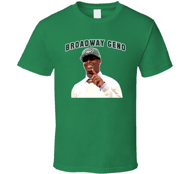 Broadway Geno Smith New York Football T Shirt