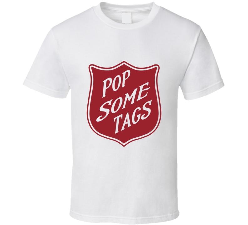 Macklemore Ryan Lewis Pop Some Tags Hip Hop Rap T Shirt