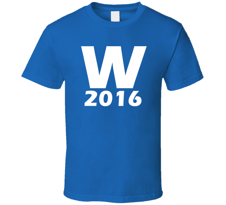 Chicago Fly The W Chicago Baseball T Shirt