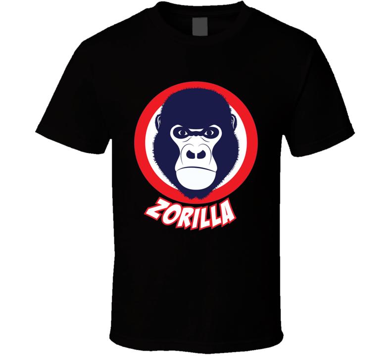 Ben Zobrist Zorilla MVP Chicago Baseball T Shirt