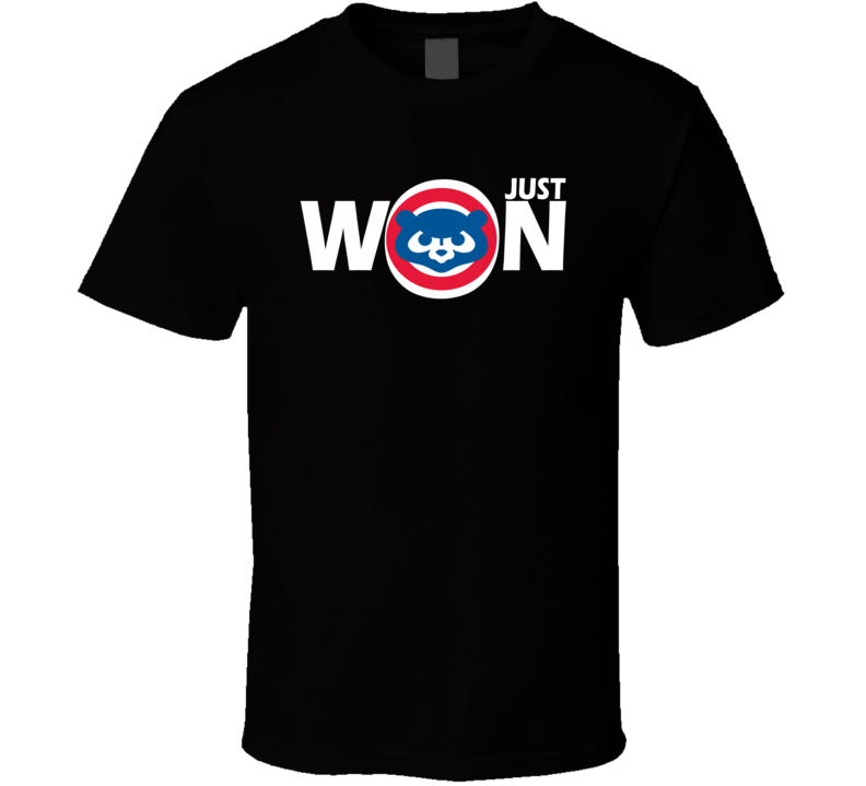 Chicago Just Won Fly The W Chicago Baseball T Shirt