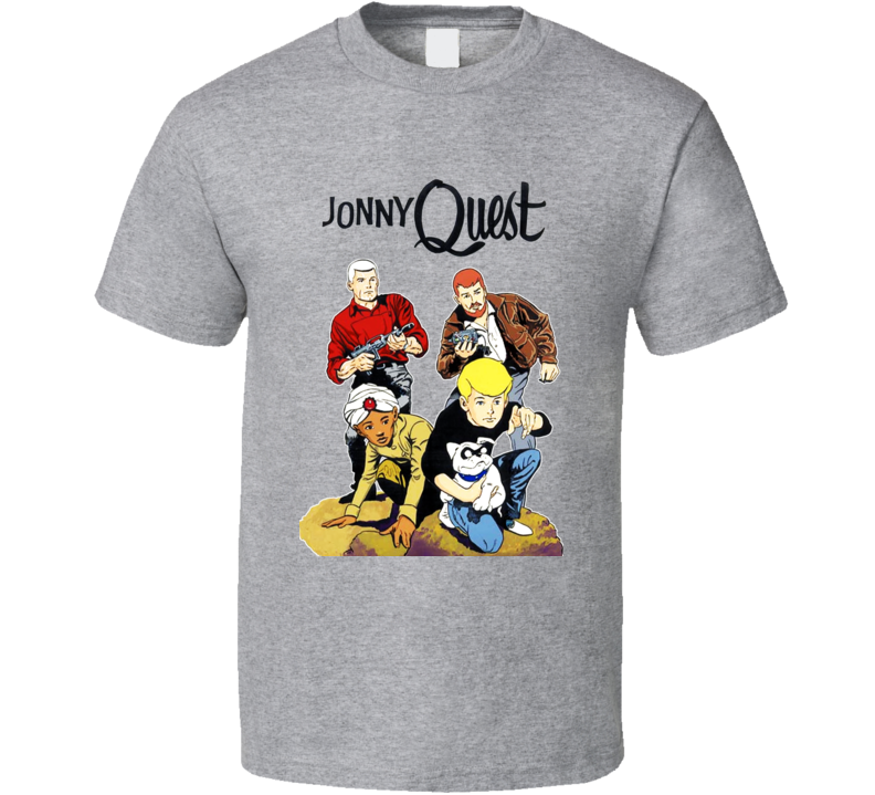 Jonny Quest Cool Retro Group T Shirt