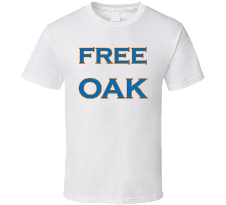 Free Oak Charles Oakley New York Basketball T Shirt