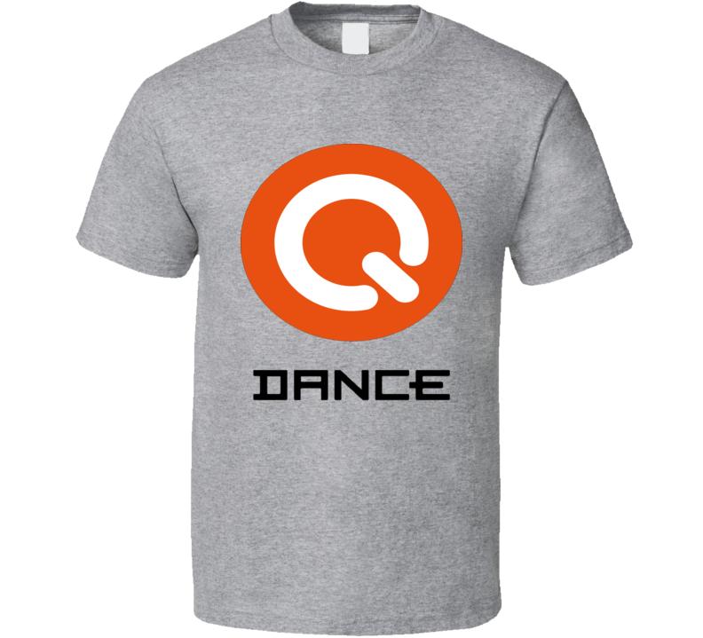 Q Dance Hardcore Trance Music T Shirt