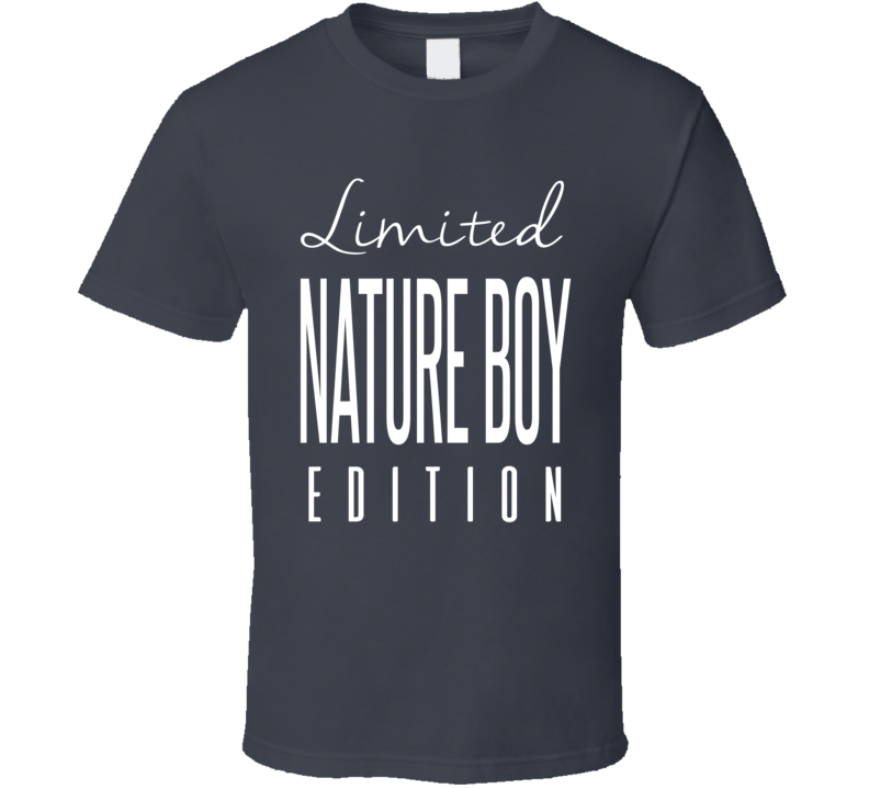 Ric Flair Nature Boy Limited Edition Classic Wrestling T Shirt