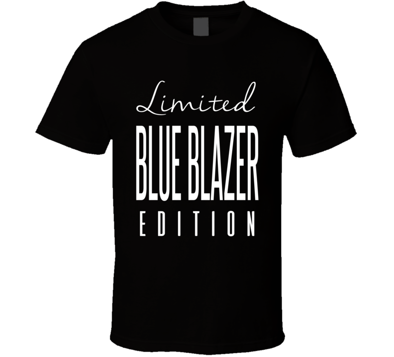 The Blue Blazer Limited Edition Classic Wrestling T Shirt