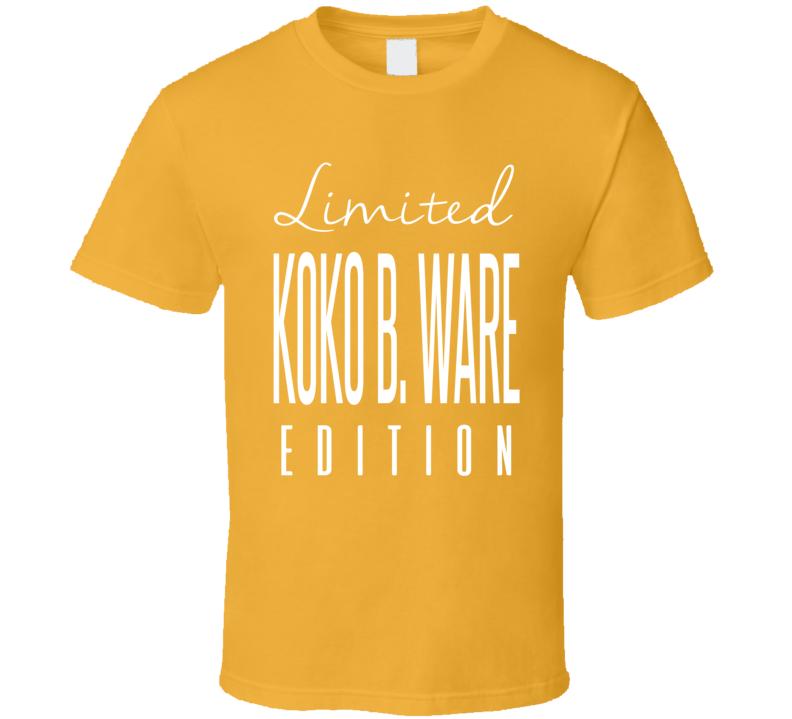 Koko B Ware Limited Edition Classic Wrestling T Shirt