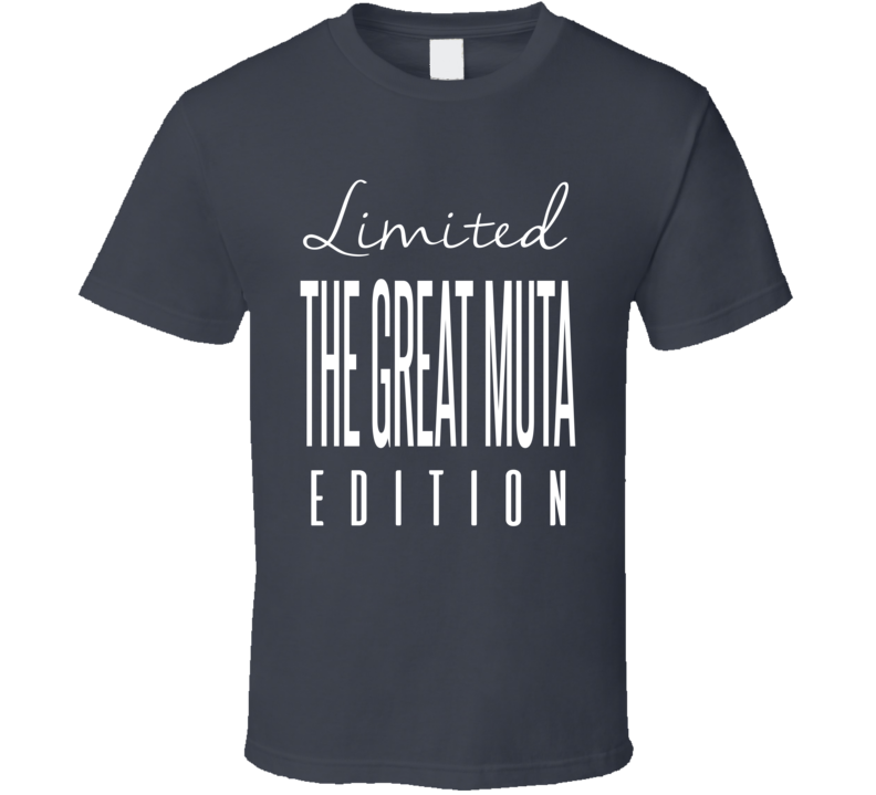 The Great Muta Limited Edition Classic Wrestling T Shirt