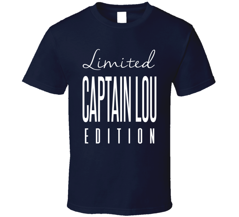 Captain Lou Albano Limited Edition Classic Wrestling T Shirt