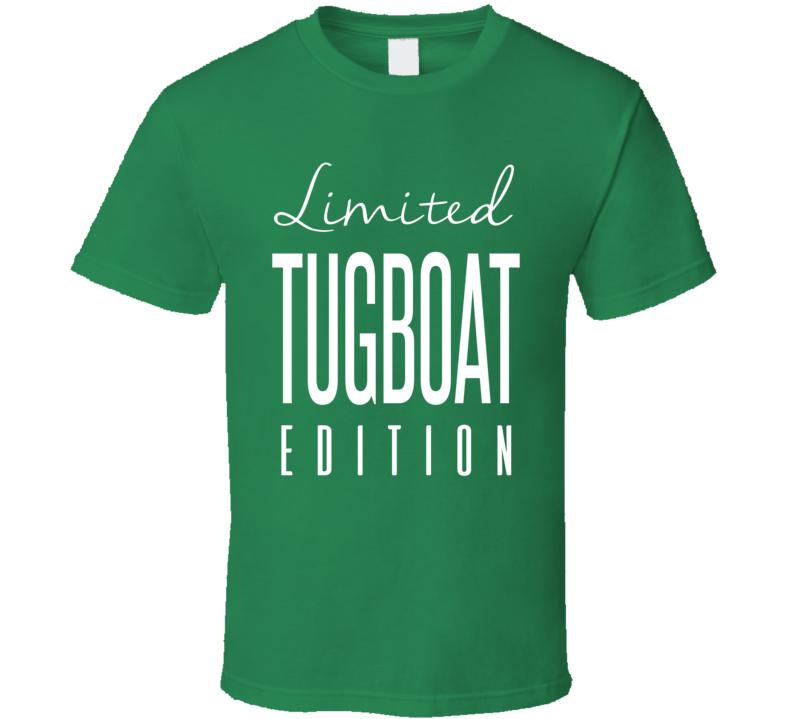Tugboat Limited Edition Classic Wrestling T Shirt