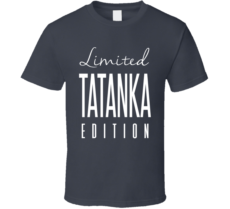 Tatanka Limited Edition Classic Wrestling T Shirt
