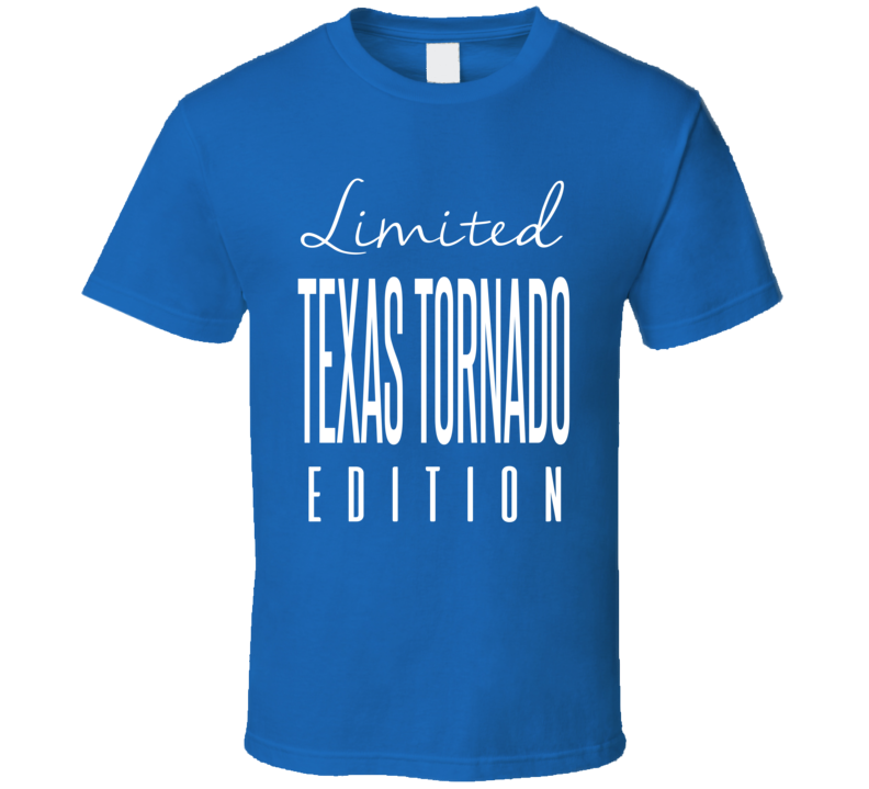 Texas Tornado Limited Edition Classic Wrestling T Shirt