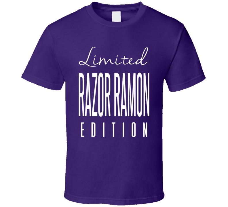 Razor Ramon Limited Edition Classic Wrestling T Shirt