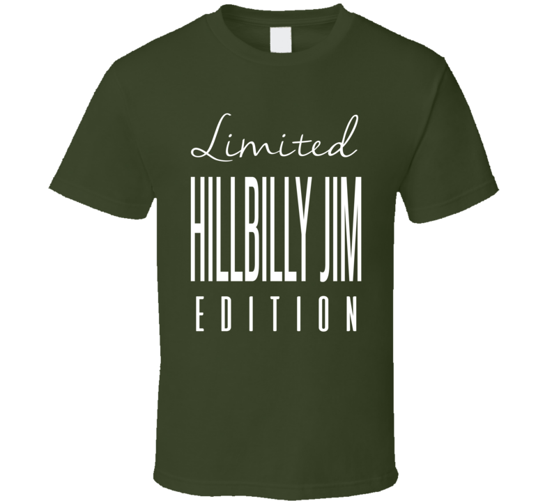 Hillbilly Jim Limited Edition Classic Wrestling T Shirt