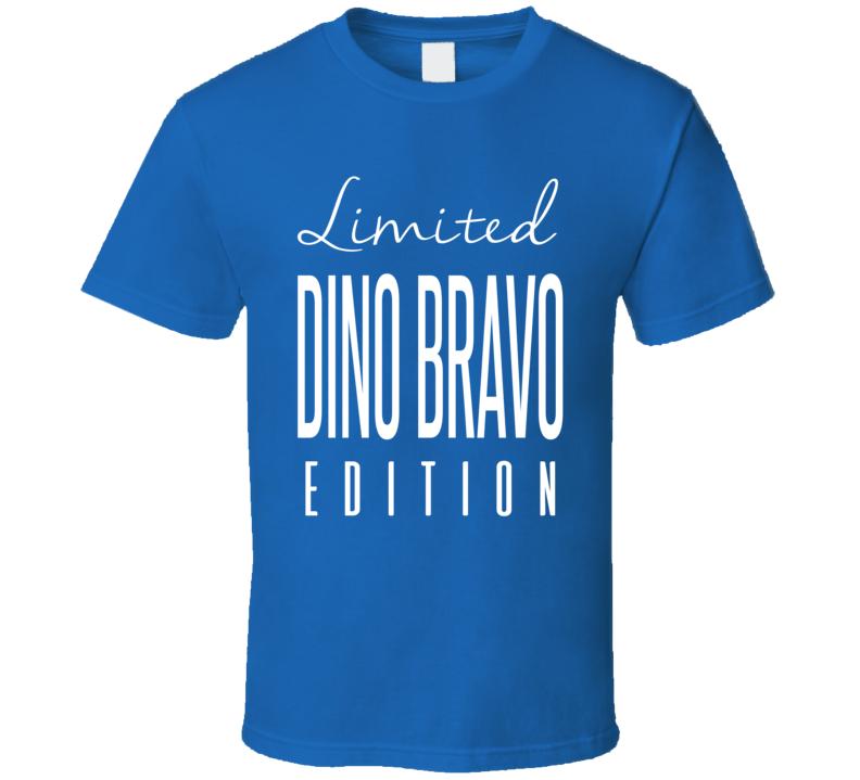 Dino Bravo Limited Edition Classic Wrestling T Shirt