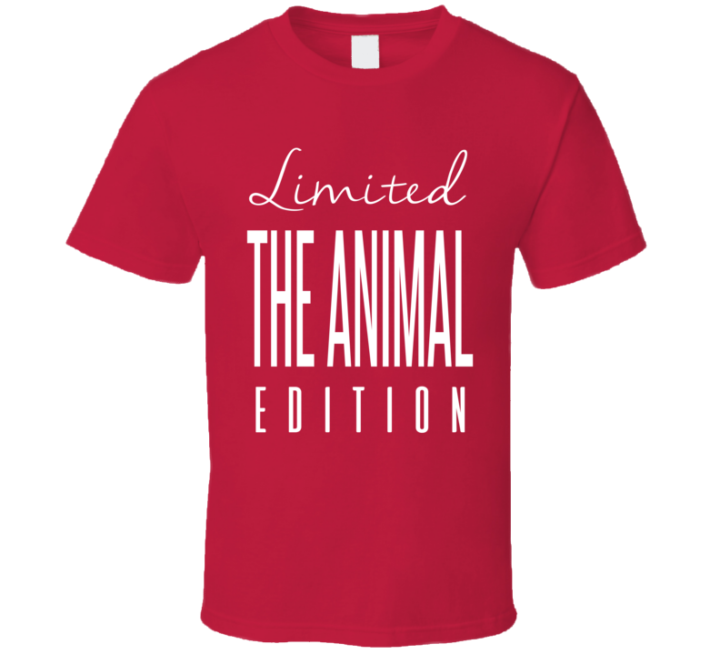 George The Animal Steele Limited Edition Classic Wrestling T Shirt