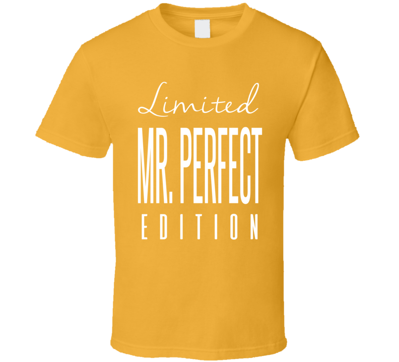 Mr Perfect Limited Edition Classic Wrestling T Shirt
