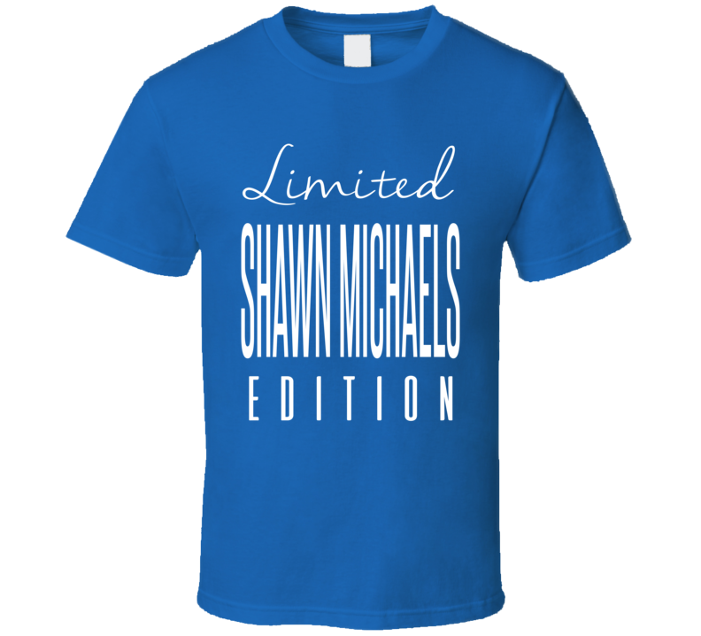 Shawn Michaels Limited Edition Classic Wrestling T Shirt