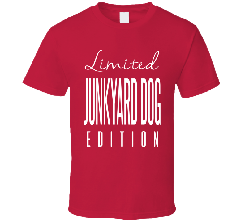 Junkyard Dog Limited Edition Classic Wrestling T Shirt