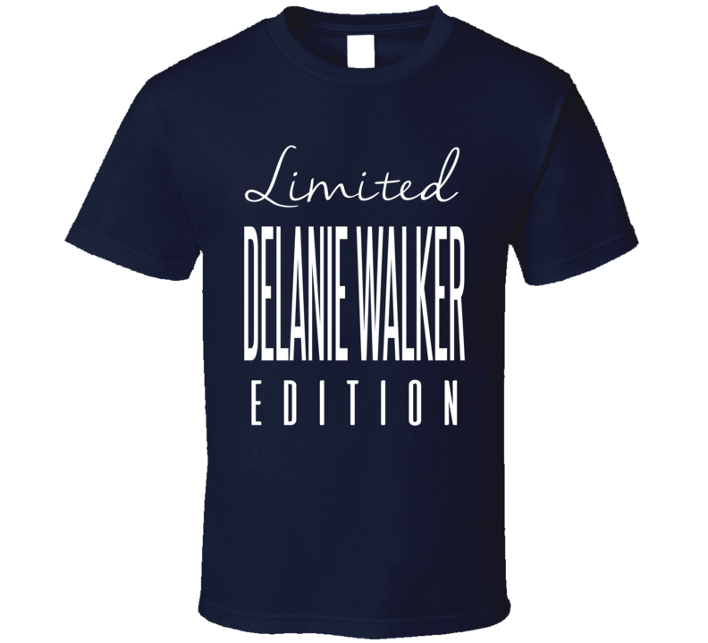 Delanie Walker Limited Edition Tennessee Football T Shirt