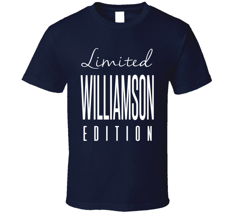 Avery Williamson Limited Edition Tennessee Football T Shirt