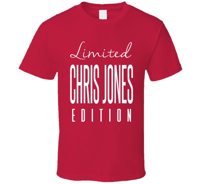 Chris Jones Limited Edition Kansas City Football T Shirt