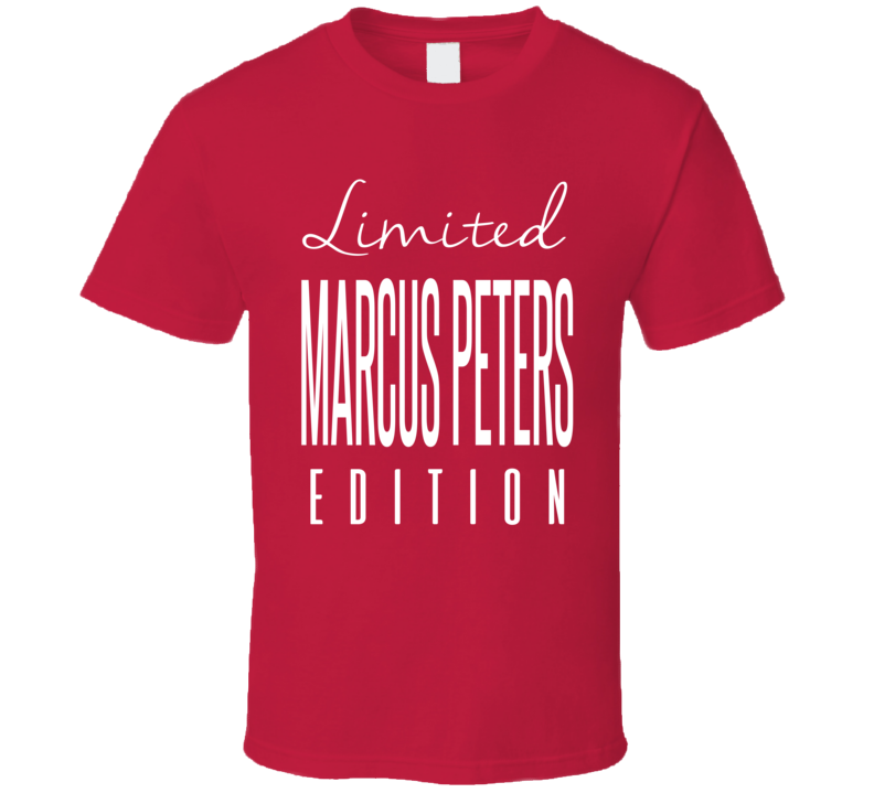 Marcus Peters Limited Edition Kansas City Football T Shirt