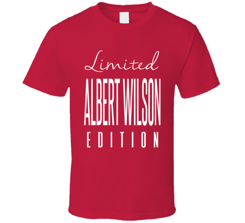 Albert Wilson Limited Edition Kansas City Football T Shirt