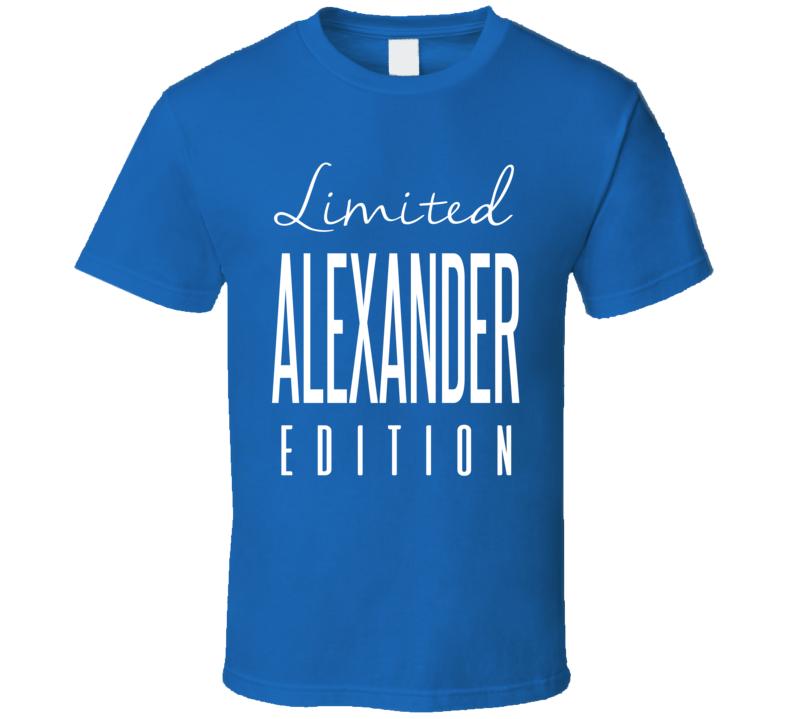 Lorenzo Alexander Limited Edition Buffalo Football T Shirt