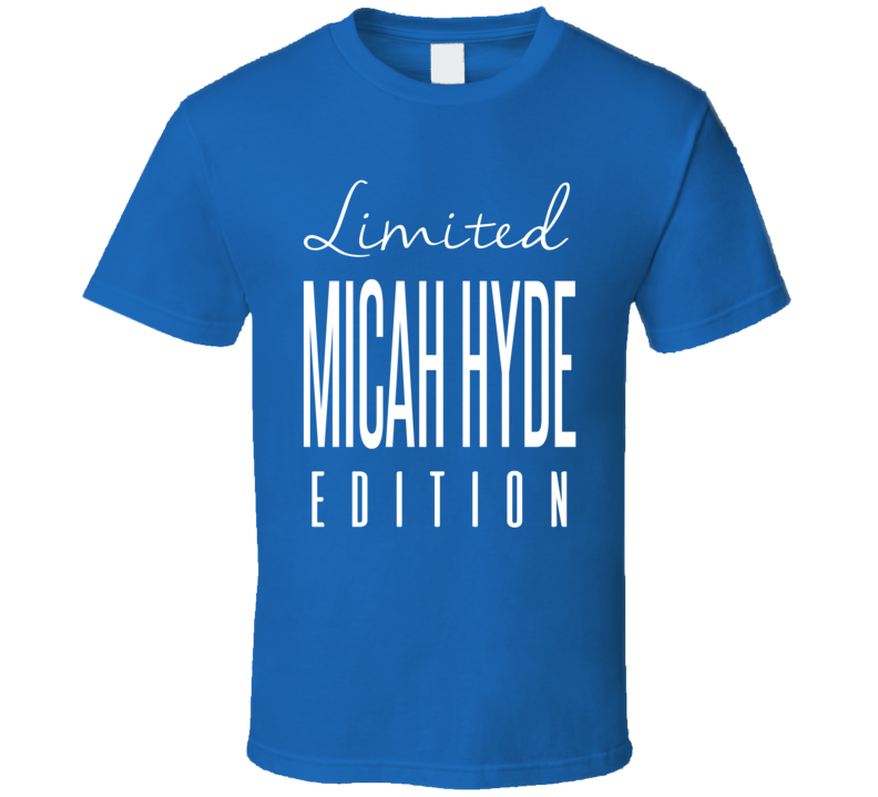 Micah Hyde Limited Edition Buffalo Football T Shirt