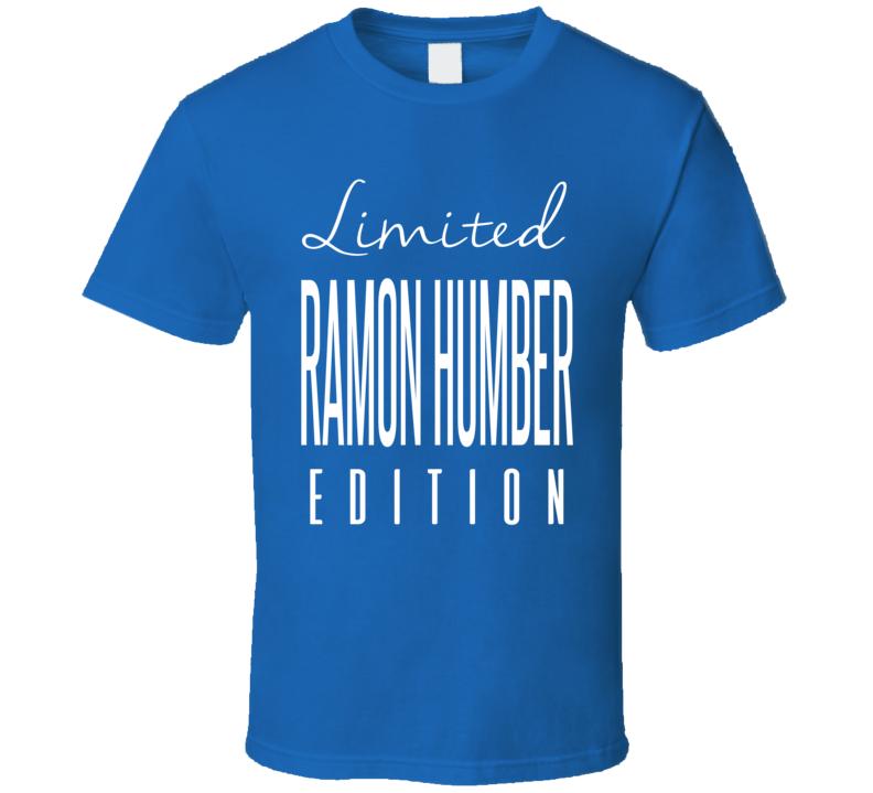 Ramon Humber Limited Edition Buffalo Football T Shirt