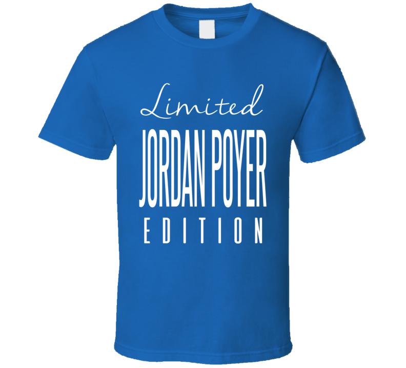 Jordan Poyer Limited Edition Buffalo Football T Shirt