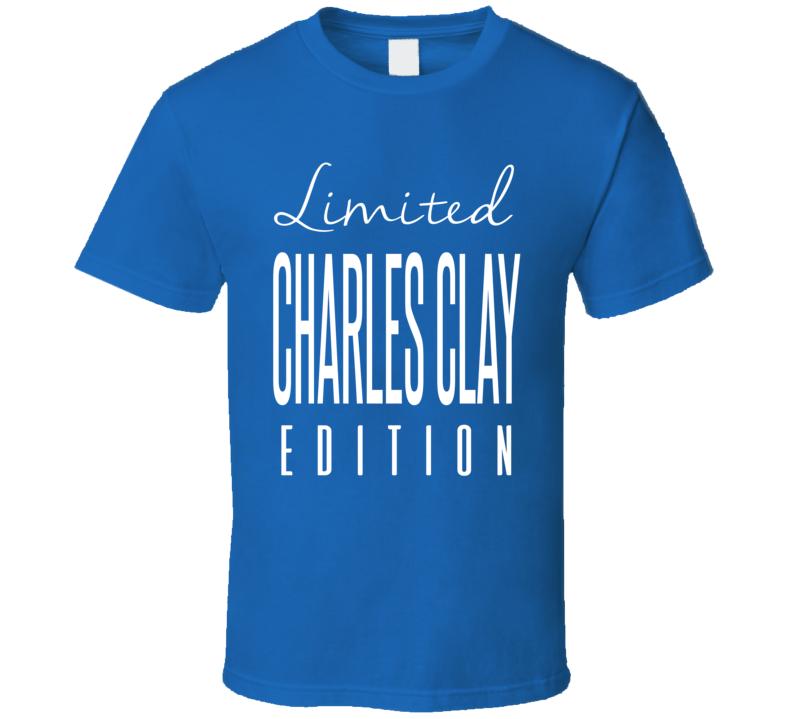 Charles Clay Limited Edition Buffalo Football T Shirt