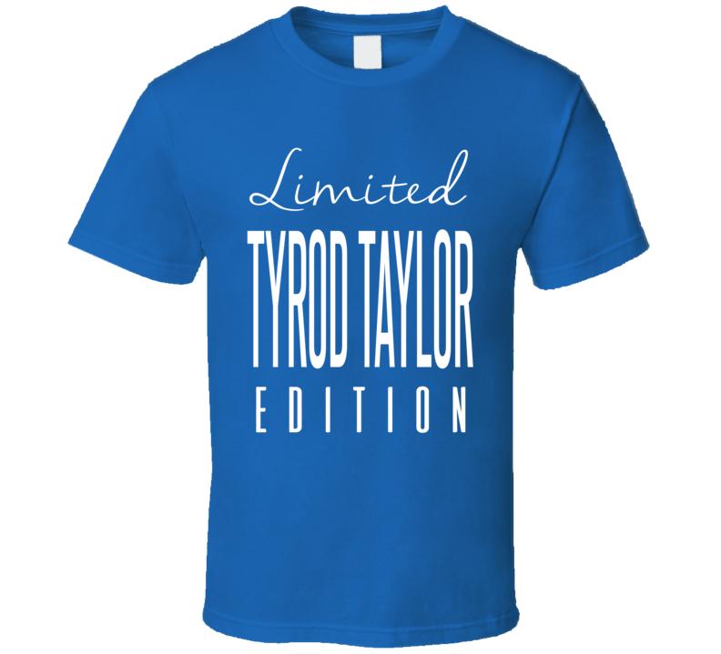 Tyrod Taylor Limited Edition Buffalo Football T Shirt